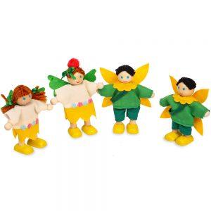 Acorn House Family Set of 4