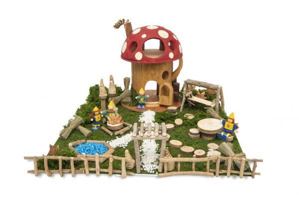Toadstool Dwelling Set