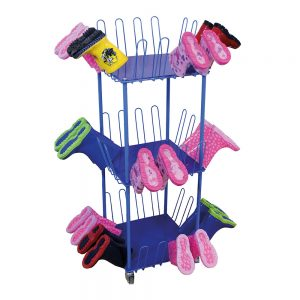 Small Mobile Welly Boot Trolley