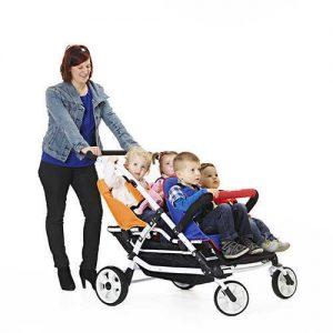 4 Seater Lightweight Stroller