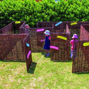 Wicker Maze Panels