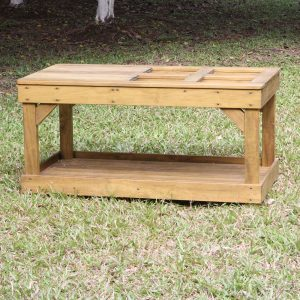 Messy Play Bench