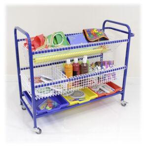 Arts and Craft Storage trolley