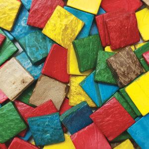 Coconut Mosaic Squares