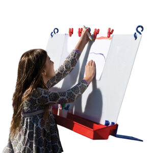 Double Hanging Fence Easel