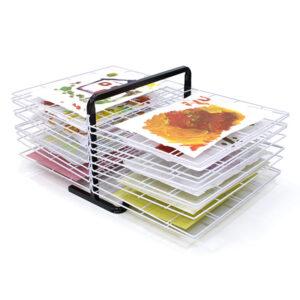 20 Shelf Table Top Drying Rack