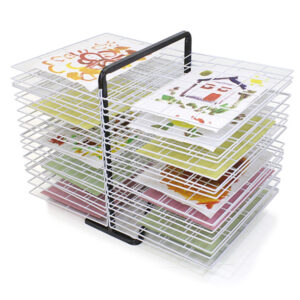 40 shelf drying rack