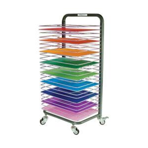 25 Shelf Mobile Drying Rack