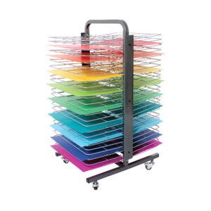 50 Shelf Mobile Drying Rack